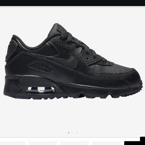Nike boy Air Max 90 black